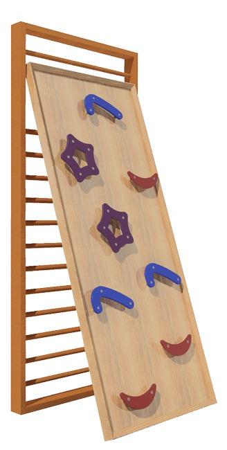 """Sport-Thieme® """"Kidz"""" Climbing Wall Set"""
