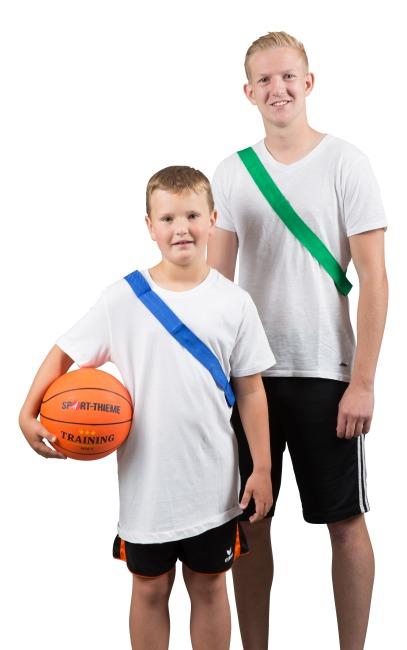 Sport-Thieme Mannschaftsband Erwachsene, L: 65 (130) cm, Grün