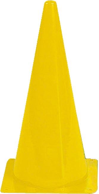 Sport-Thieme Markierungskegel 20,5x20,5x37 cm, Gelb