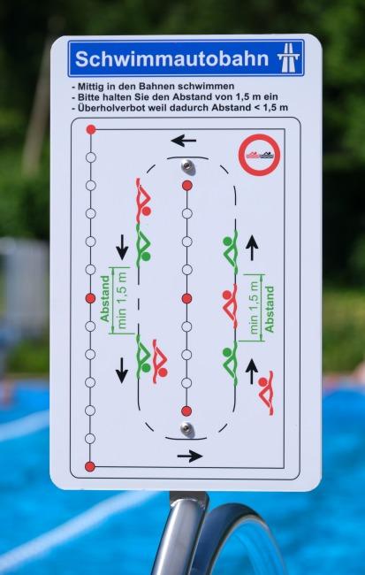 """Sport-Thieme Schwimmautobahn """"Competition"""" 25 m"""