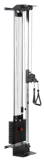 Sport-Thieme® Seilzugapparat Explosiv Gewichtsblock 55 kg, Ohne Schutzverkleidung