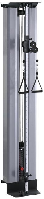 Sport-Thieme® Seilzugapparat Explosiv Gewichtsblock 55 kg, Mit Schutzverkleidung