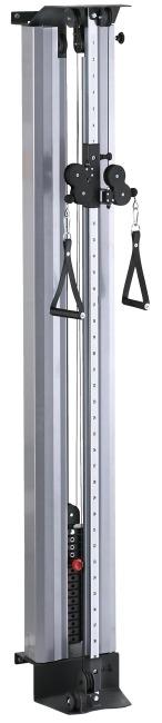 Sport-Thieme® Seilzugapparat Explosiv Gewichtsblock 100 kg, Mit Schutzverkleidung