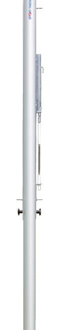 Sport-Thieme® Volleyball-Mittelpfosten ø 83 mm Mit Spindelspannvorrichtung