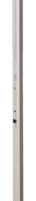 Sport-Thieme® Volleyball-Mittelpfosten 80x80 mm Mit Spindelspannvorrichtung