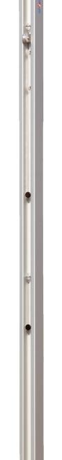 Sport-Thieme® Volleyballpfosten 80x80 mm DVV 2 Mit Spindelspannvorrichtung