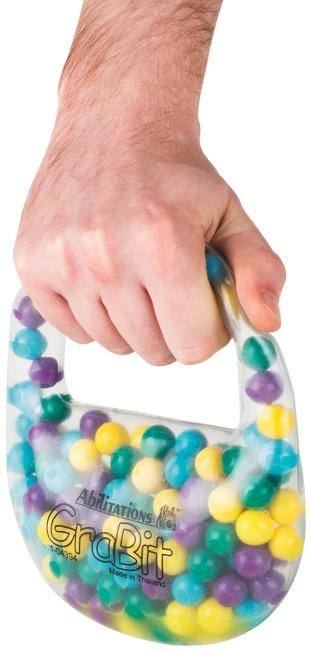 "Taktile Fingerhantel ""Grabits"""