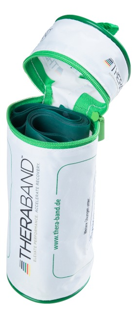 Thera-Band®, 2.5 m in a zip-up bag Green, high