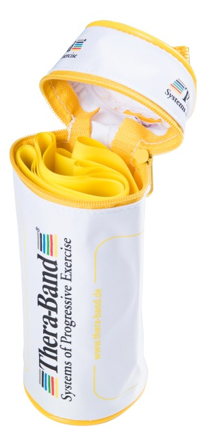 TheraBand 250-cm in a zip-up bag Yellow, low