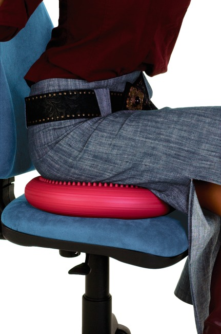 Togu® Ballkissen® Dynair® Wedge Cushion Kids, red