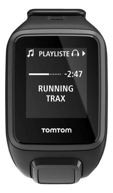 "TomTom Sportuhr Runner 2 ""Music"" Schwarz/Anthrazit, S"