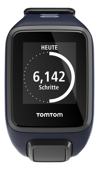 TomTom Sportuhr Runner 2 S, Dunkelblau/Lila