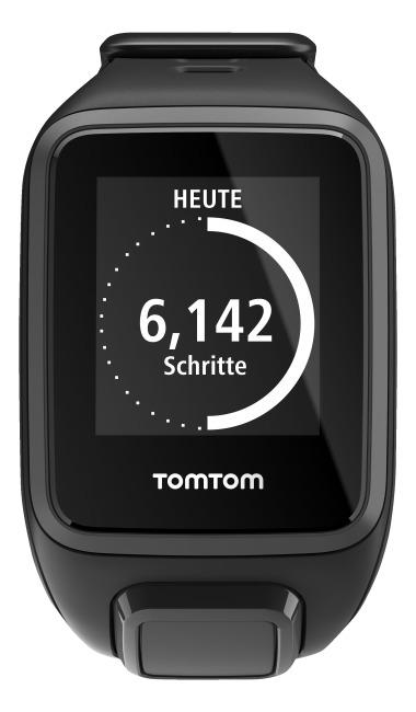 TomTom Sportuhr Runner 2 S, Schwarz/Anthrazit