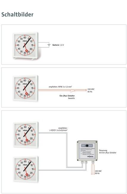 Trainingsuhr mit Minuten- und Sekundenanzeige Batteriebetrieb 2x1,5 V, Lief. inkl. Batterien