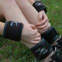 Ironwear® kunstlæder hånd- og fodmanchetter