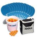 "Cornilleau® Tischtennis-Set ""Tacteo 30"" Bälle Orange"
