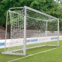 Sport-Thieme 5x2 m, Square Tubing, Portable Youth Football Goal Bolted corner joints