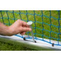 Sport-Thieme Safety Aluminium Mini Training Goal 1.2x0.8 m, goal depth 0.7 m, Incl. net, green (mesh width 10 cm)