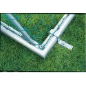 Safety Anchoring System, 80x40 mm Square tubing, 80x40 mm
