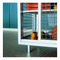 Schwimmbad-Gitterregalwagen Mit Standfüßen, 148x165x62 cm