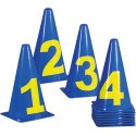 Marking Cones Numbers 0–10