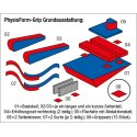 """Enste® """"PhysioForm-Grip"""" Support System 74x58 cm (Size I)"""