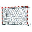 Handball Goal Nets with Chessboard Pattern White/blue