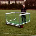 "Sport-Thieme ""Safety"" Mini Football Goal 1.20x0.80 m, Incl. net, green (mesh width 10 cm)"