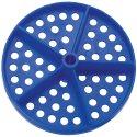 Malmsten Lochscheibe für Competitor™ Schwimmleine Standard ø 100 mm (2er Set) Blau