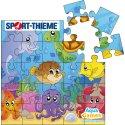 Aqua Game Puzzle Meeresbewohner, Quadratisch, 100x100 cm