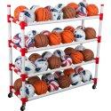 Sport-Thieme® Ballwagen aus Kunststoff mit 4 Ablagen