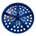 """Sport-Thieme® Half Perforated Disc for """"Competition"""" Swimming Lane Lines Blue"""