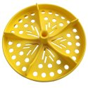 """Sport-Thieme® Half Perforated Disc for """"Competition"""" Swimming Lane Lines Yellow"""