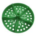"""Sport-Thieme® Half Perforated Disc for """"Competition"""" Swimming Lane Lines Green"""