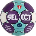 "Select® Handball ""Solera"" Größe 0, Blau-Weiß-Lila"