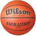 "Wilson ""Evolution"" Basketball Orange/black, Size 6"
