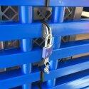 """Regalwagen aus Kunststoff """"XXL"""" Blau"""