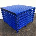 Pool-Plattform zum Reduzieren der Wassertiefe Blau