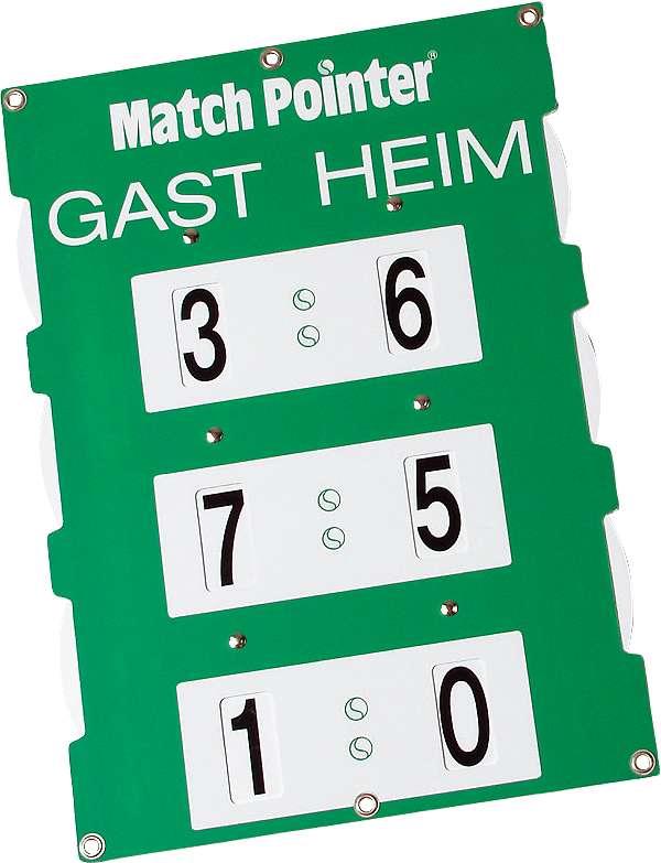 Match Pointer, 96×65 cm