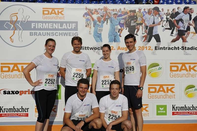 DAK Firmenlauf 2012 Brausnchweig: Sport-Thieme war dabei
