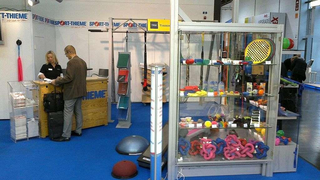 Medica Fachmesse - Sport-Thieme als Aussteller für Medizinprodukte