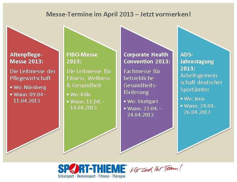 Infografik Termine April 2013
