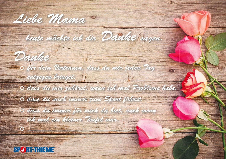 Urkunde-Muttertag