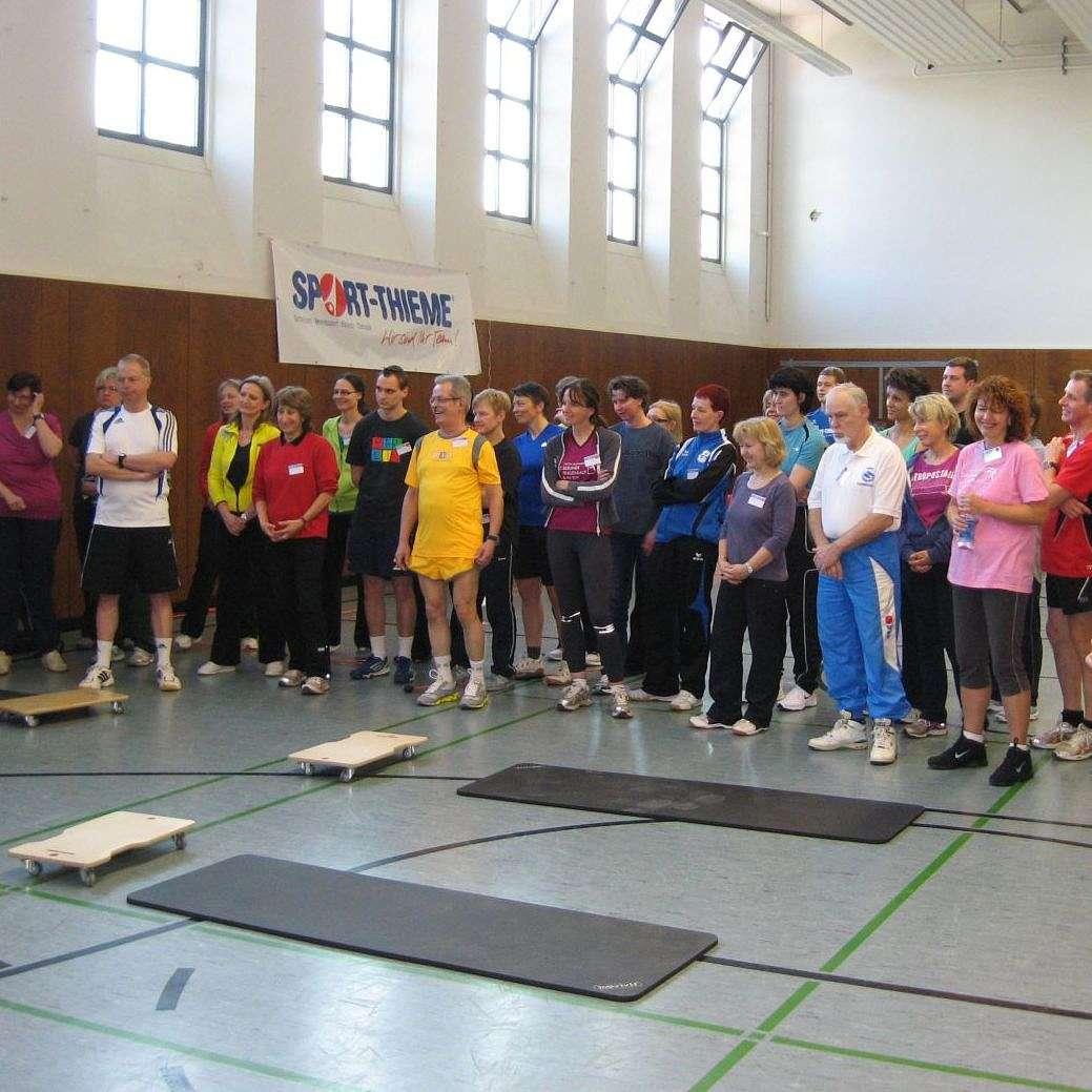 Sport-Thieme Akademie 2013 - Einige der Teilnehmer aus Berlin