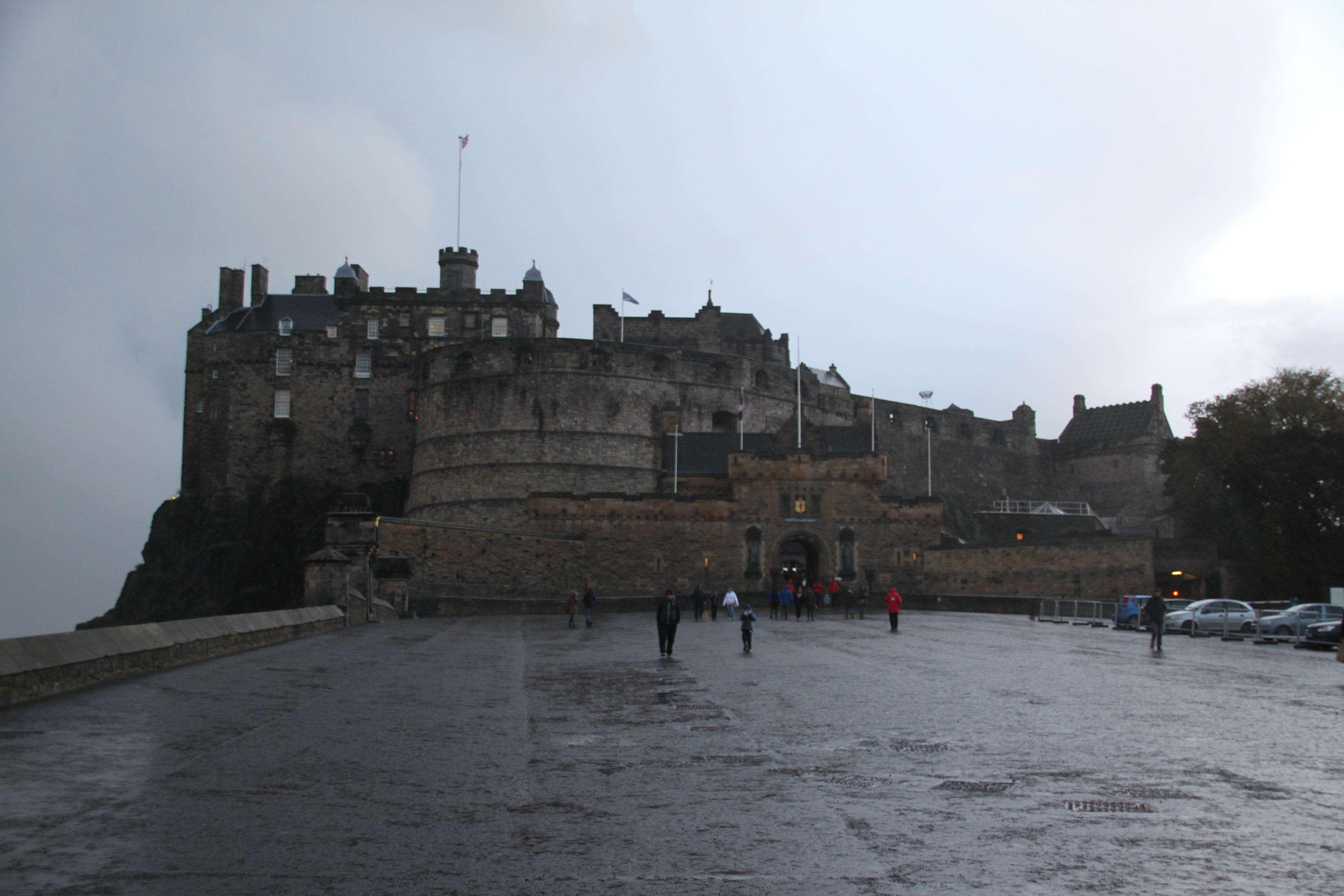 Wir besuchen Edinburg Castle