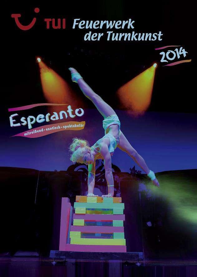 Feuerwerk der Turnkunst- Esperanto Tour