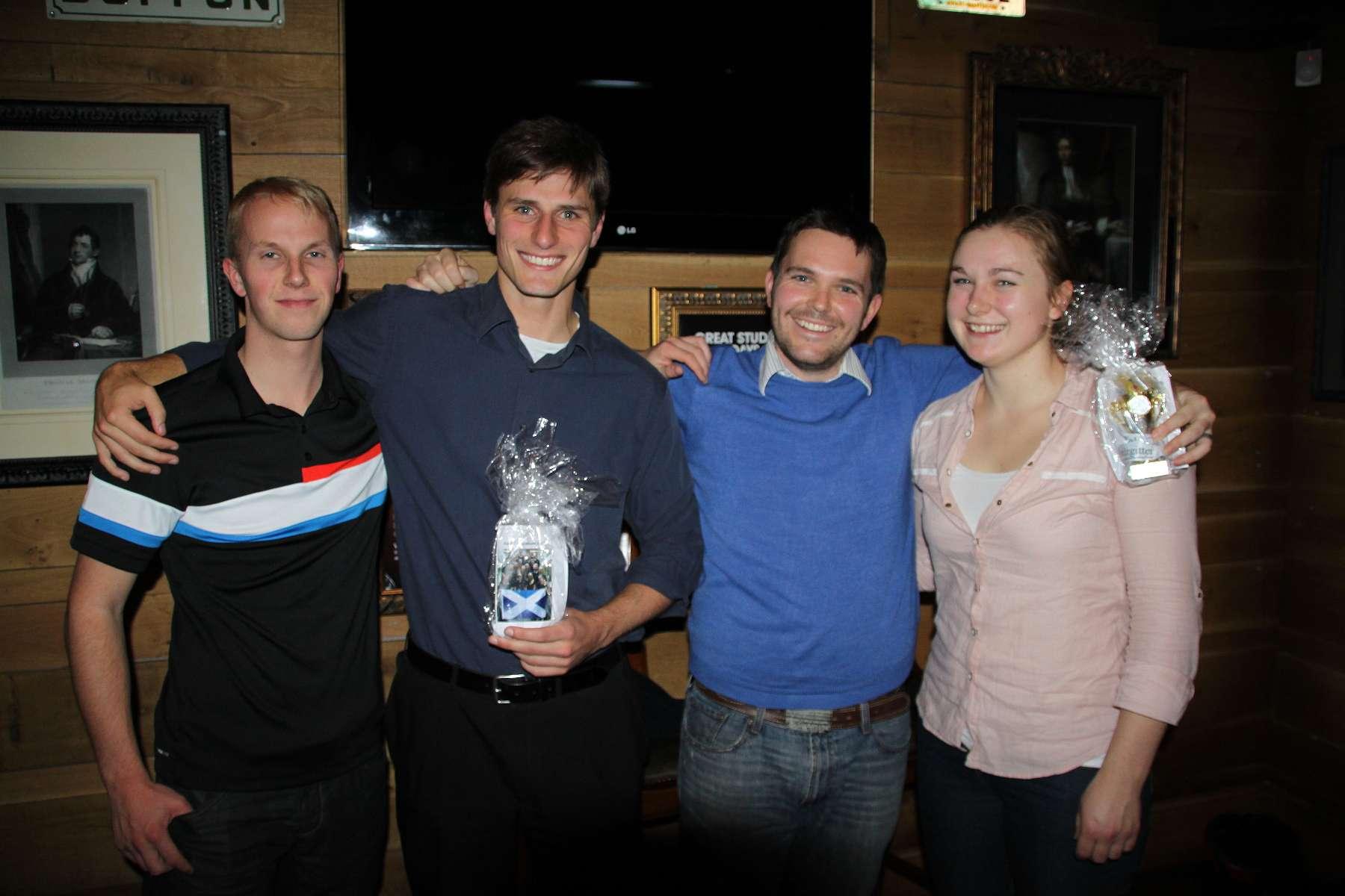 Treffen mit dem Edinburgh City Men's Lacrosse Team