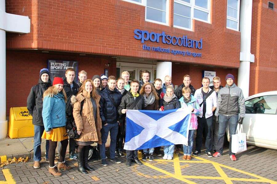 Zu Besuch bei Sportscotland: The national agency for sport