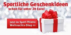 Weihnachtsgeschenke im Sport-Thieme Online-Shop