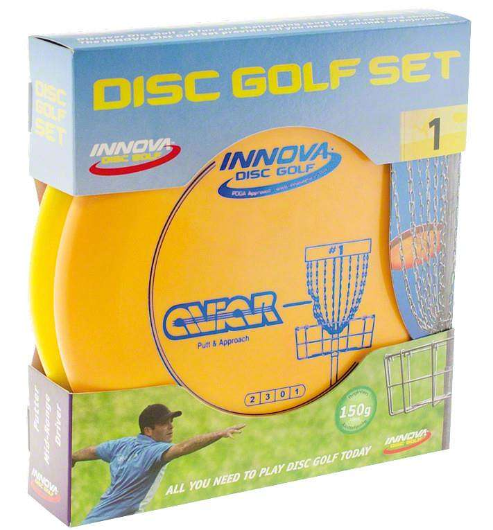 Disc-Golf-Set